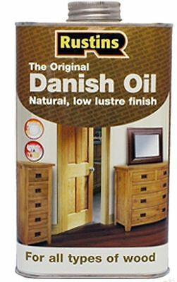 Rustins Danish Oil 1L/250ml500ml  for All types of Wood