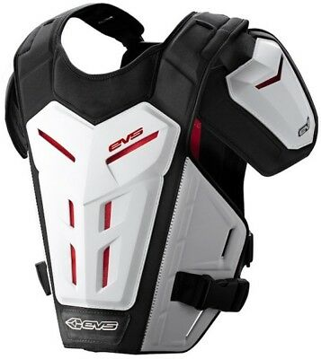 EVS Revo 5 White Adult MX Offroad Motorcycle Riding Chest Protector 412304-0209