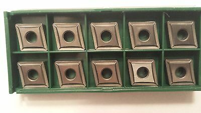 New World Products CNMP 432 AA Mp4 C5 Carbide Inserts Uncoated 10pcs CNMP120408