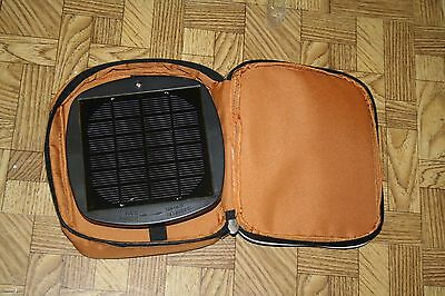 NEW Canadian Tire Woods Solar Panel In Case, Tested and Works, W/Batteries