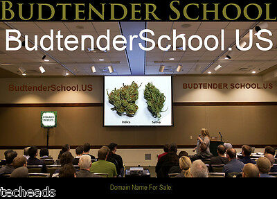 BUD TENDER SCHOOL - American CANNABIS Niche Domain Name: BudtenderSchool.US