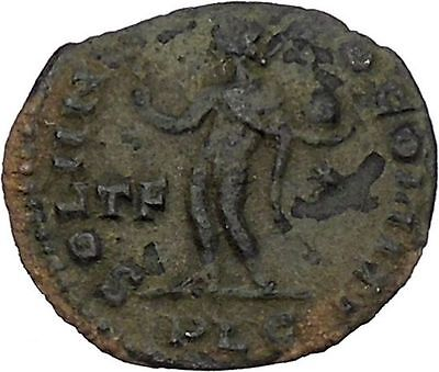 Constantine I the Great Authentic Ancient Roman Coin Sol  Sun God Cult  i45876