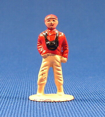 1950's BARCLAY METAL FIGURE LITTLE PEOPLE BOY #370 O - S SCALE RAILROAD LAYOUTS