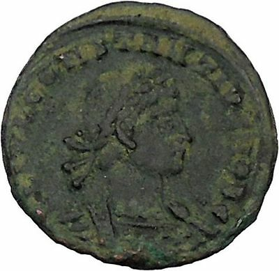 CONSTANTIUS II Constantine the Great son Ancient   Roman Coin Standard  i45881