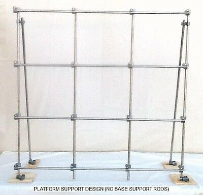 "Rotocon Lab Frame, Nrz33, 1/2"" Solid 304 S/s Rods"