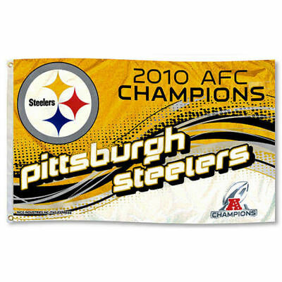 Pittsburgh Steelers NFL Flag Tailgating Banner