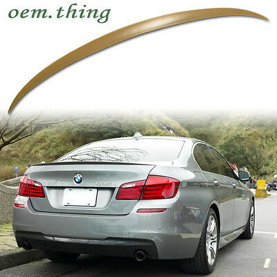 BMW 5-Series F10 M5 TYPE BOOT REAR TRUNK LIP SPOILER ABS 528i 520i 16
