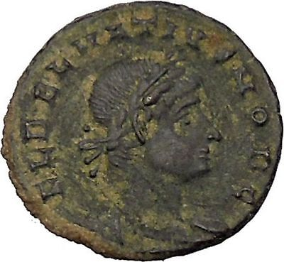 DELMATIUS Dalmatius 335AD Roman Caesar  Ancient Coin Legion Glory of Army i45892