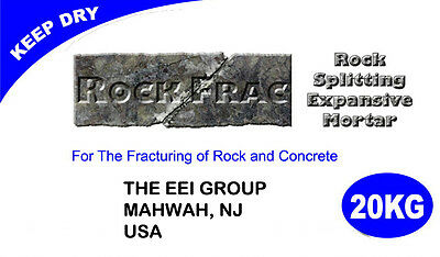 RockFrac non explosive cracking agent type I, II or III