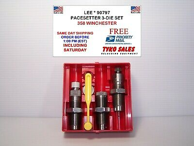 Lee 90797 * Lee Precision Pacesetter 3-Die  Set * 358 Winchester * 90797