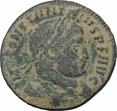CONSTANTINE I the GREAT 314AD Ancient Roman Coin Sol Sun God Cult  i47039