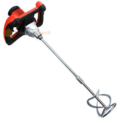 1600 Watt Electric Hand Mortar Mixer Cement Paint Concrete Ul New Zemm