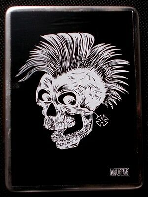 Punk Skull stainless steel utility tin