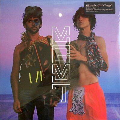 MGMT Oracular Spectacular vinyl LP NEW/SEALED