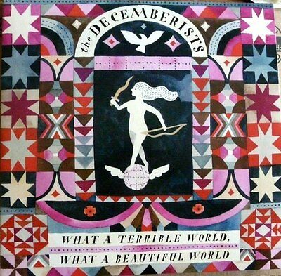 Decemberists What A Terrible World, What A Wonderful World vinyl 2LP NEW/SEALED
