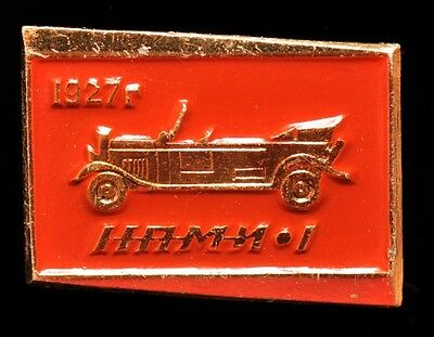 SOVIET RUSSIA USSR NAMI-1 CAR AUTOMOBILE pin badge