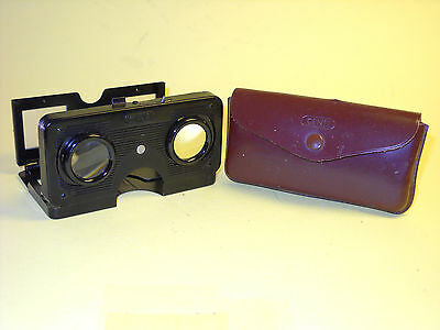 Cenei 24x24mm Slide Stereo Viewer w/Case in extremely good condition
