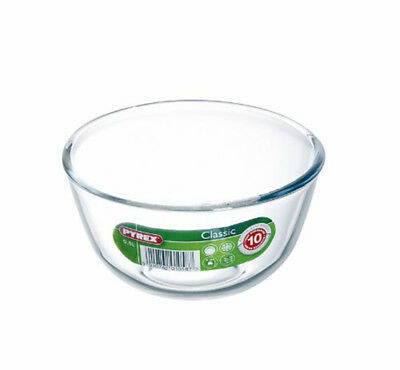 Pyrex Classic 0.5Ltr Glass Mixing Bowl Ovenproof Freezer Dishwasher & Microwave