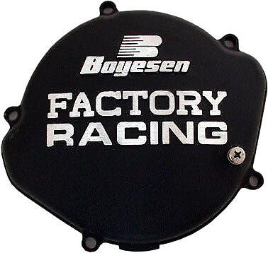 BOYESEN M/C CLUTCH COVER CR125 87-99 BLACK CC-01B Replacement CC01B CC01B
