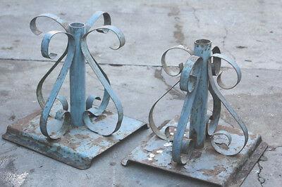 Wrought Iron UMBRELLA STAND Base Holder Outdoor Patio Dining