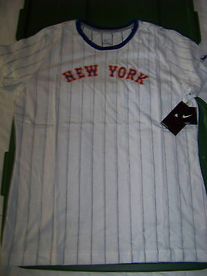 Nike Women's New York Mets Cooperstown Collection Shirt NWT