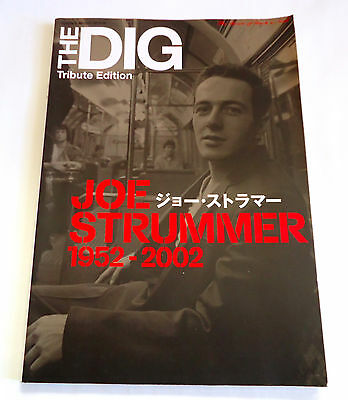 JOE STRUMMER 1952-2002 Japan Magazine THE DIG Tribute Edition PHOTO BOOK Clash z
