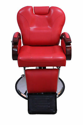 All Purpose Hydraulic Recline Salon Beauty Spa Equipment Barber Chair 8705 Red
