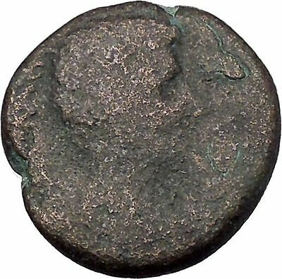 AUGUSTUS 27BC Thessaly Koinon Larissa ATHENA Authentic Ancient Roman Coin i47244