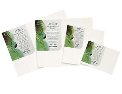 "6 x Winsor & Newton Canvas Boards / Panels - 10"" x 8"""