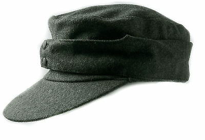 Wwii German Wh Em M43 Panzer Wool Field Cap Size M-35774