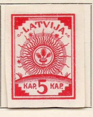 Latvia 1919 Early Issue Fine Mint Hinged 5k. 120899