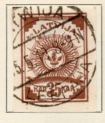 Latvia 1919 Early Issue Fine Used 35k. 120905
