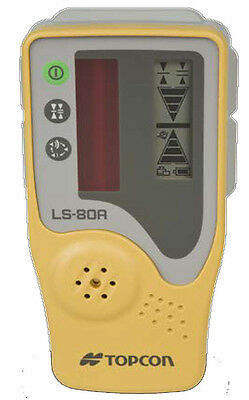 Topcon LS-80A Rotating Laser Level Detector with Priority Mail (No Clamp)