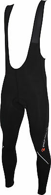 Piu Miglia Mens Cycling Bib Tights - Black