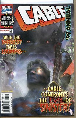 Cable 1992 series annual # '99 near mint comic book