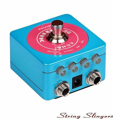 Mooer Spark Echo Effects Pedal, glow in the dark, MSPARKDD1