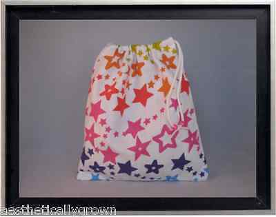 Gymnastics Leotard Grip Bags / Stars of the Rainbow Gymnasts Birthday Goody Bag