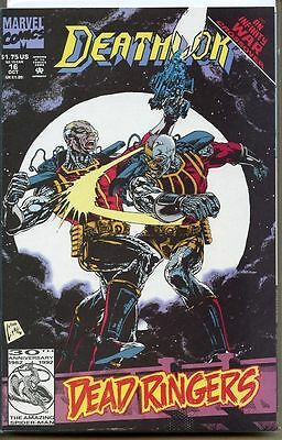 Deathlok 1991 series # 16 near mint comic book