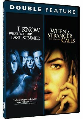 I Know What You Did Last Summer/When a Stranger Calls (DVD, 2014) VG