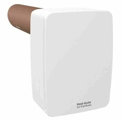 Vent-Axia Lo-Carbon Tempra P Single Room Heat Recovery Unit Bathroom Utility