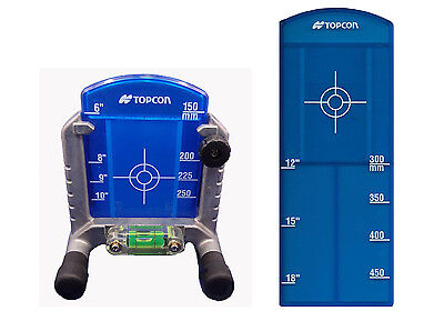 Topcon Pipe Target for TP-L4G/GV Green Pipe Lasers with Priority Mail