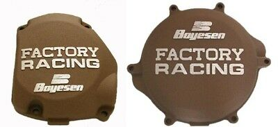 Boyesen Clutch & Ignition Magnesium Cover For Suzuki RM125 98-08 SC-21CM CC-21AM