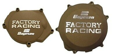 Boyesen Clutch & Ignition Magnesium Cover For Yamaha YZ250 99-17 SC-32AM CC-32AM