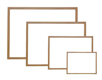 Wood Framed Magnetic Dry Erase Board Menu Sign 48 x 96
