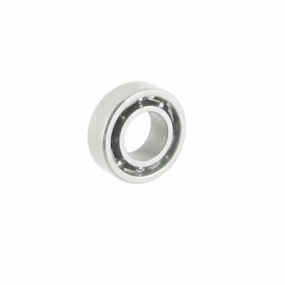 Silver Tone Metal Sealed Deep Groove Radial Ball Bearing 3mm x 6mm x 2mm