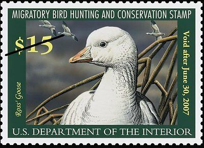 Federal Duck Stamp 2006- 2007 Collection