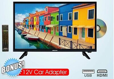 "24"" (60cm) FULL HD LED LCD TV - DVD COMBO - PVR USB RECORDING 240V AND 12 VOLTS"