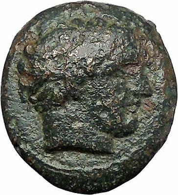 Philip II Alexander the Great Dad OLYMPIC GAMES Ancient Greek Coin Horse i47507