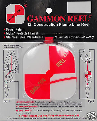 New 12 Foot Gammon Reel #012 with Priority Mail Shipping