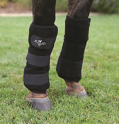 Professional's Choice Ice Boots w/frozen gel pockets Prof Pro cold therapy horse